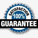 100% product warranty